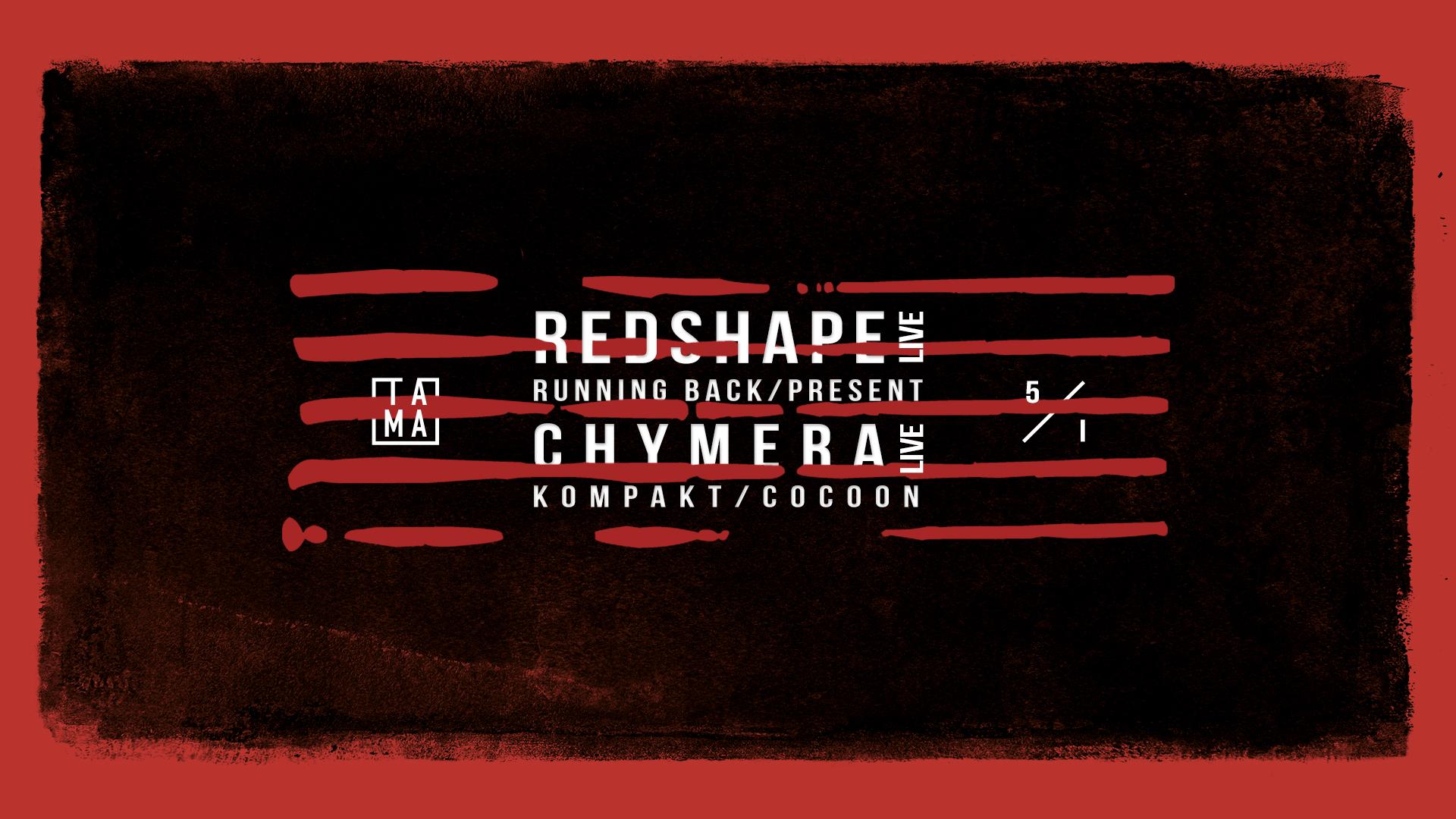 Ritualis #2: Redshape live / Chymera live / 5 I 2018
