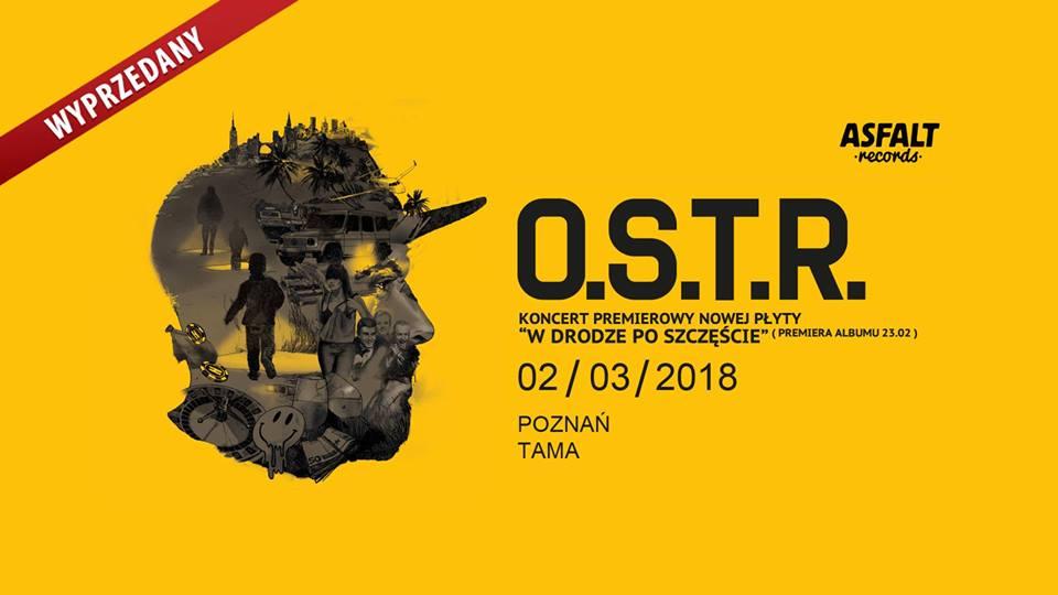 """OSTR w Poznaniu! Koncert premierowy """"W drodze po szczęście"""""""