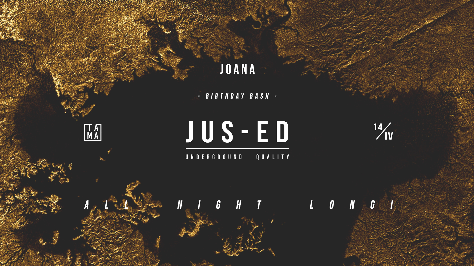 Joana Birthday Bash: Jus-Ed all night long!