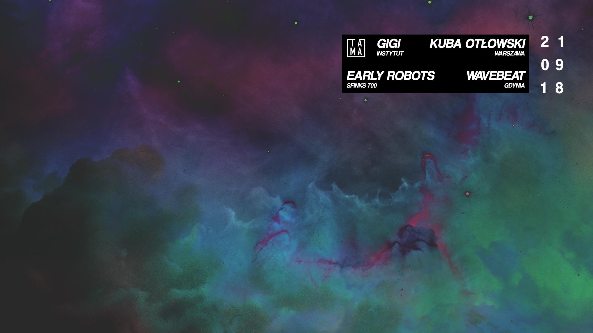 GiGi / Kuba Otłowski / Early Robots / wavebeat
