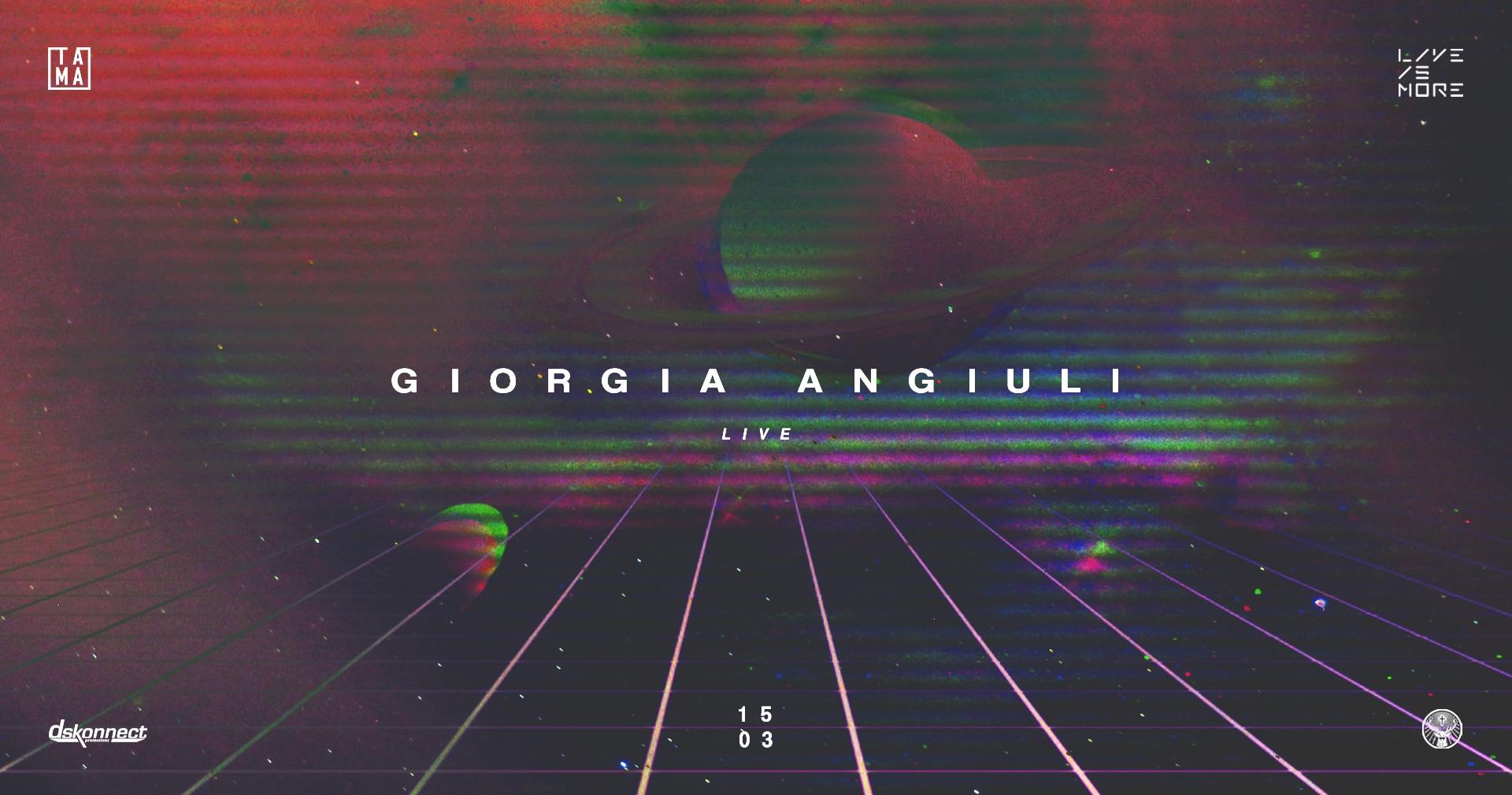 Giorgia Angiuli live