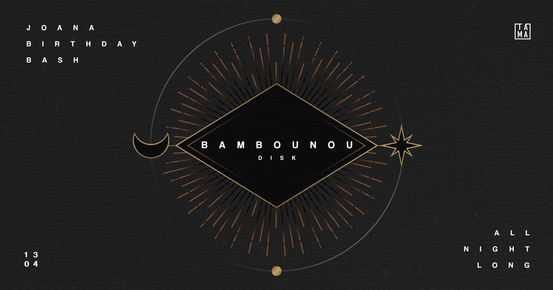 Joana Birthday Bash: Bambounou all night long!